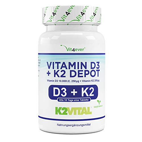 Vit4ever Vitamin D3 Tabletten Lebensmittel Test 2021