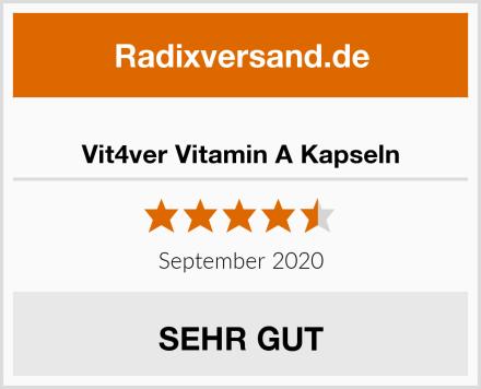Vit4ver Vitamin A Kapseln Test