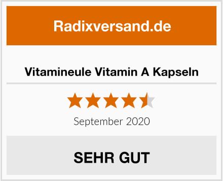 Vitamineule Vitamin A Kapseln Test