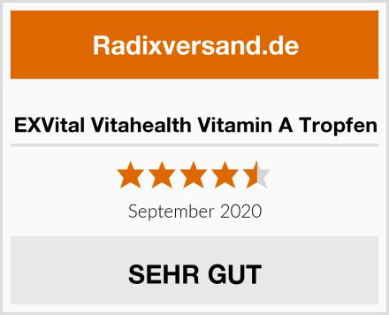 EXVital Vitahealth Vitamin A Tropfen Test