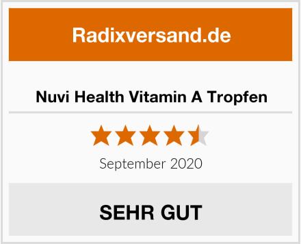 Nuvi Health Vitamin A Tropfen Test