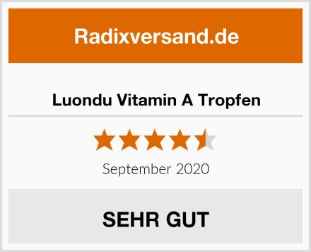 Luondu Vitamin A Tropfen Test