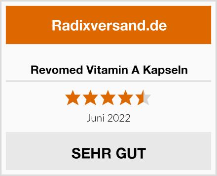 Revomed Vitamin A Kapseln Test