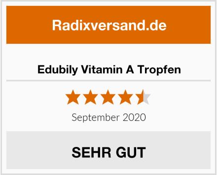 Edubily Vitamin A Tropfen Test
