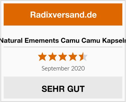 Natural Emements Camu Camu Kapseln Test