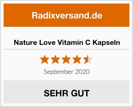 Nature Love Vitamin C Kapseln Test