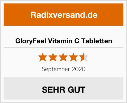 GloryFeel Vitamin C Tabletten Test
