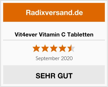 Vit4ever Vitamin C Tabletten Test
