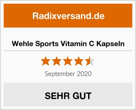 Wehle Sports Vitamin C Kapseln Test