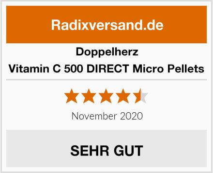 Doppelherz Vitamin C 500 DIRECT Micro Pellets Test