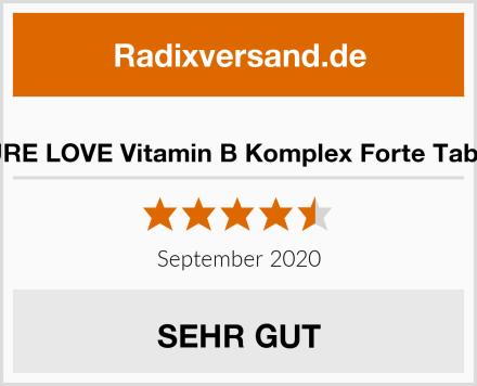 NATURE LOVE Vitamin B Komplex Forte Tabletten Test