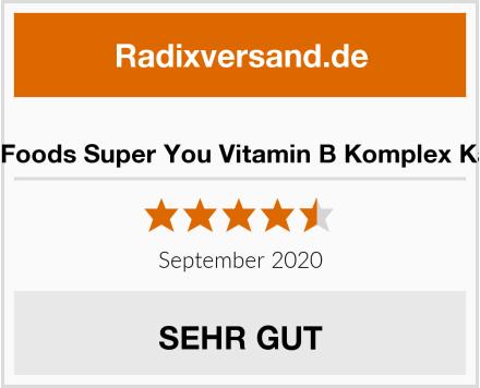 Alpha Foods Super You Vitamin B Komplex Kapseln Test