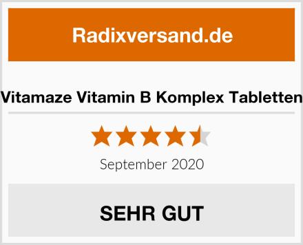 Vitamaze Vitamin B Komplex Tabletten Test