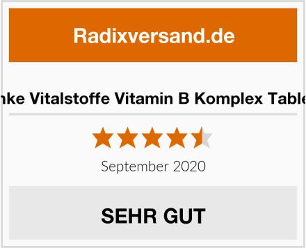 Warnke Vitalstoffe Vitamin B Komplex Tabletten Test