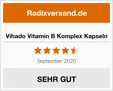 Vihado Vitamin B Komplex Kapseln Test