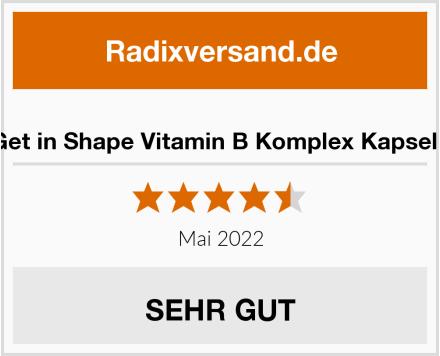 Get in Shape Vitamin B Komplex Kapseln Test