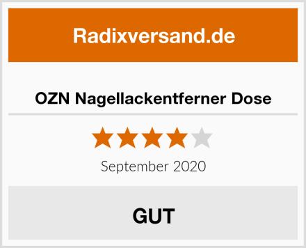 OZN Nagellackentferner Dose Test