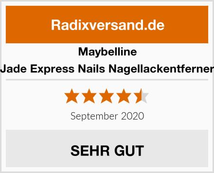 Maybelline Jade Express Nails Nagellackentferner Test