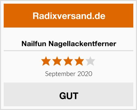 Nailfun Nagellackentferner Test