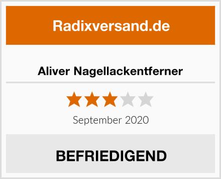 Aliver Nagellackentferner Test