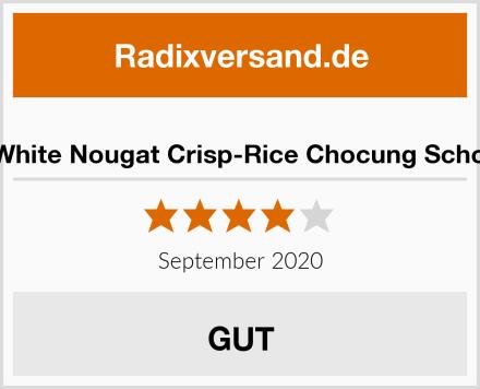 Vivani White Nougat Crisp-Rice Chocung Schokolade Test