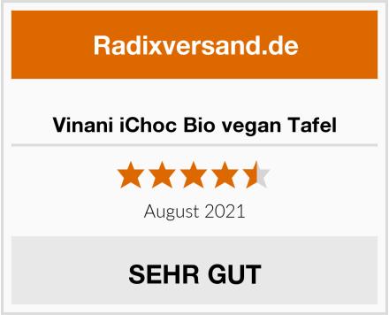 Vinani iChoc Bio vegan Tafel Test