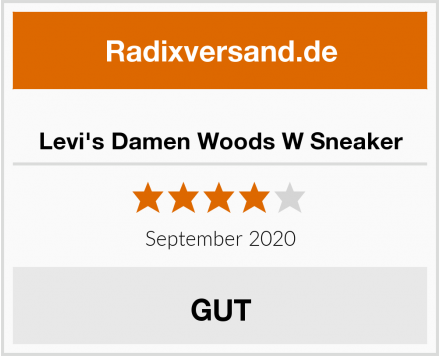 Levi's Damen Woods W Sneaker Test