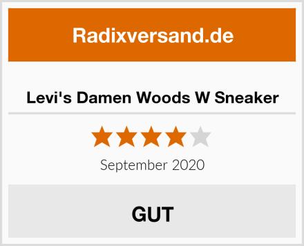 Levi's Damen Woods W Sneaker Test
