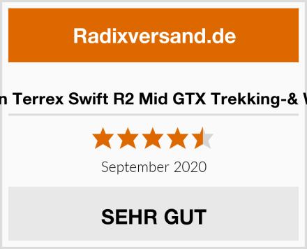 adidas Herren Terrex Swift R2 Mid GTX Trekking-& Wanderstiefel Test