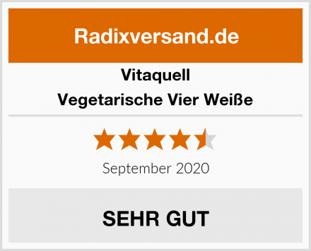 Vitaquell Vegetarische Vier Weiße Test