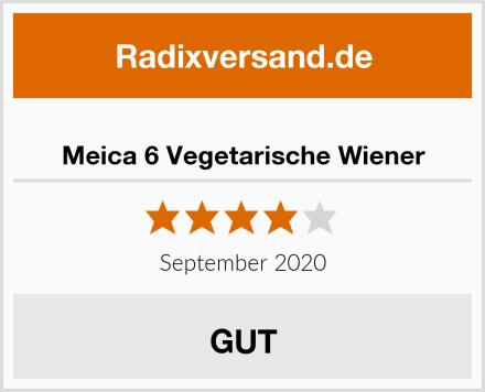 Meica 6 Vegetarische Wiener Test
