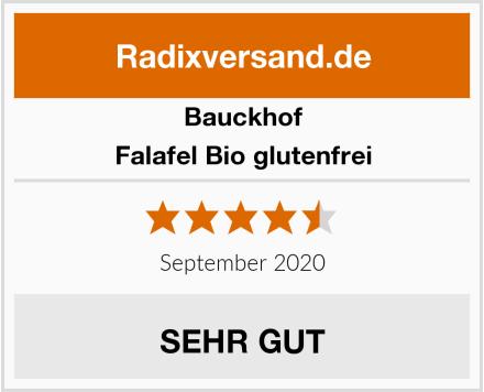 Bauckhof Falafel Bio glutenfrei Test