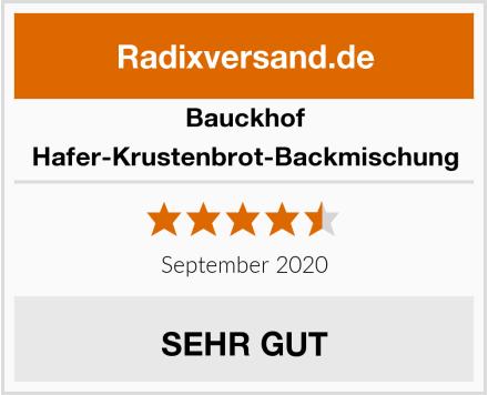 Bauckhof Hafer-Krustenbrot-Backmischung Test