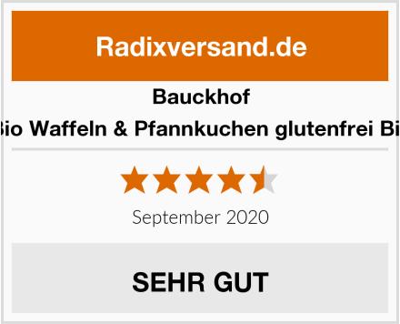 Bauckhof Bio Waffeln & Pfannkuchen glutenfrei Bio Test