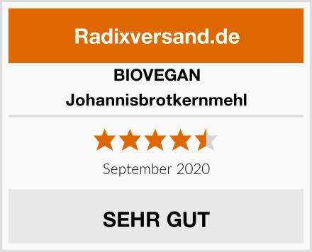 BIOVEGAN Johannisbrotkernmehl Test