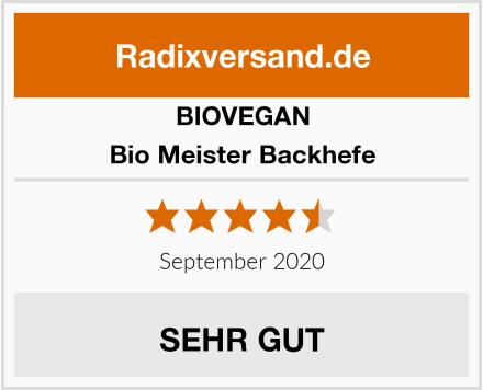 BIOVEGAN Bio Meister Backhefe Test