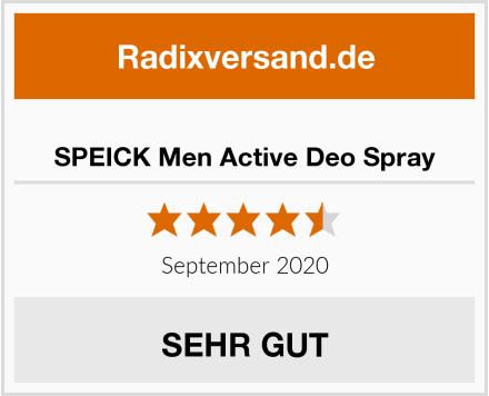 SPEICK Men Active Deo Spray Test