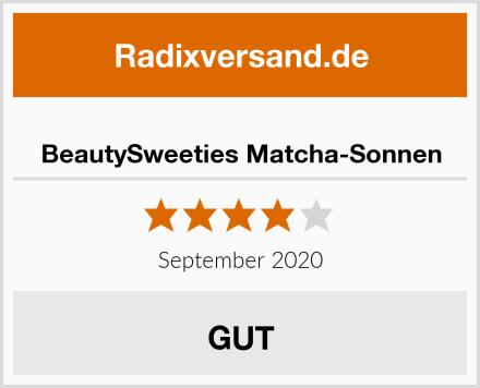 BeautySweeties Matcha-Sonnen Test