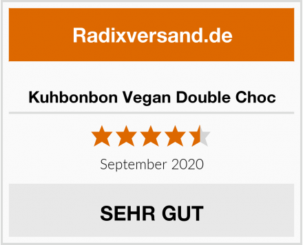 Kuhbonbon Vegan Double Choc Test