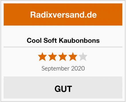 Cool Soft Kaubonbons Test