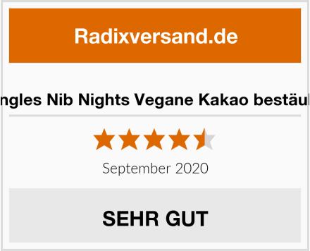 Monty Bojangles Nib Nights Vegane Kakao bestäubte Pralinen Test