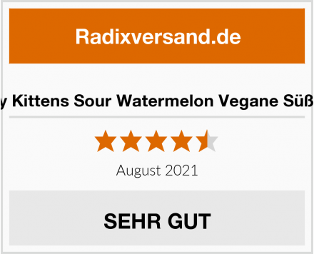 Candy Kittens Sour Watermelon Vegane Süßigkeit Test