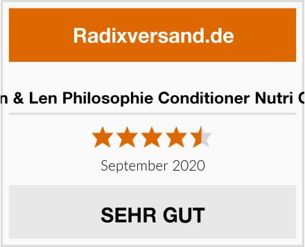 Jean & Len Philosophie Conditioner Nutri Care Test