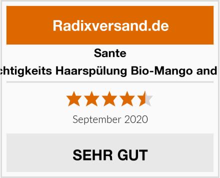 Sante Feuchtigkeits Haarspülung Bio-Mango and Aloe Test