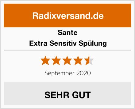 Sante Extra Sensitiv Spülung Test