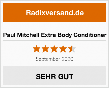 Paul Mitchell Extra Body Conditioner Test