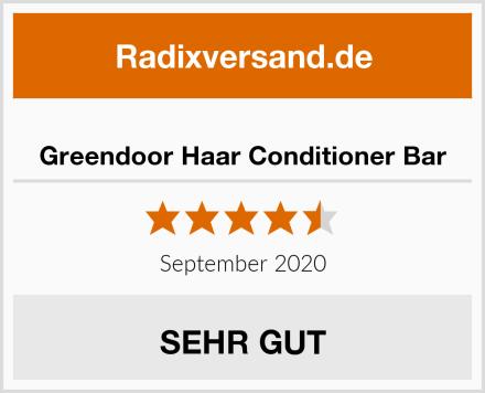 Greendoor Haar Conditioner Bar Test