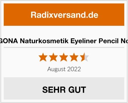 LOGONA Naturkosmetik Eyeliner Pencil No. 01 Test