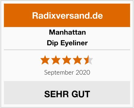 Manhattan Dip Eyeliner Test