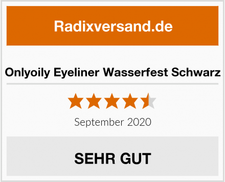 Onlyoily Eyeliner Wasserfest Schwarz Test